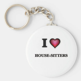 Ik houd van huis-Babysitters Sleutelhanger