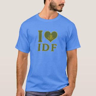Ik houd van IDF - de Krachten van de Defensie van T Shirt