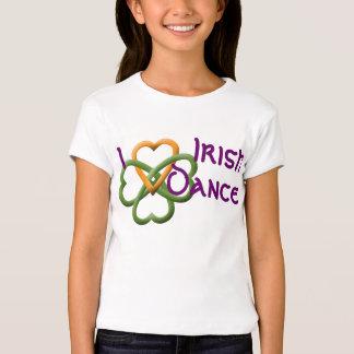 Ik houd van Ierse Dans T Shirt