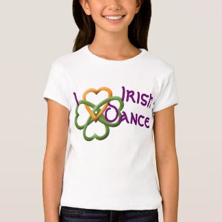 Ik houd van Ierse Dans T-shirts