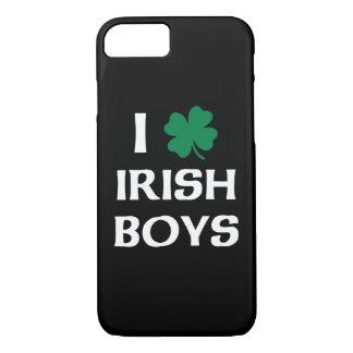 Ik houd van Ierse Jongens iPhone 7 Hoesje
