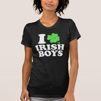 Ik houd van Ierse Jongens T-shirts