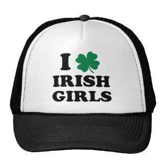 Ik houd van Ierse Meisjes Trucker Pet