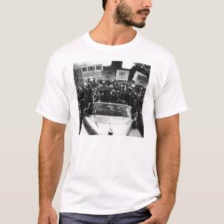 Ik houd van Ike Dwight D. Eisenhower Campaign T Shirt