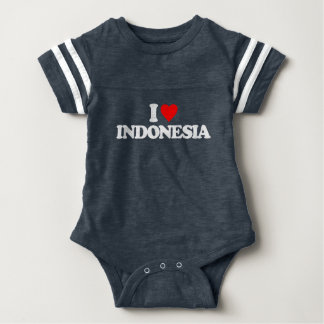 IK HOUD VAN INDONESIË BABY BODYSUIT
