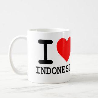 Ik houd van Indonesië - de Mok van de Koffie