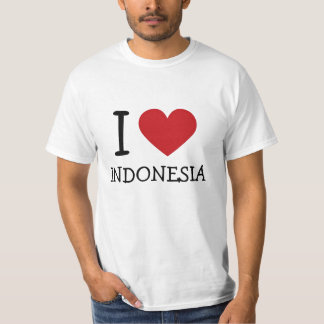 Ik houd van Indonesië T Shirt