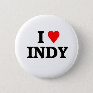 Ik houd van Indy Ronde Button 5,7 Cm