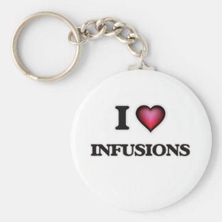 Ik houd van Infusies Sleutelhanger