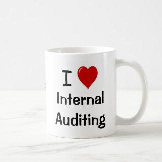 Ik houd van Interne Controlerende Intern. Het Hart Koffiemok