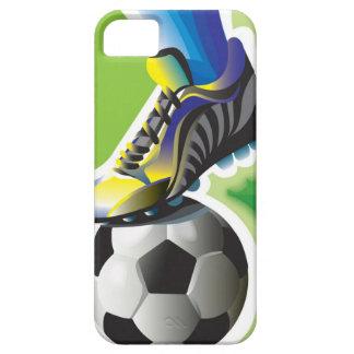 Ik houd van iPhone 5 van het Voetbal Hoesje
