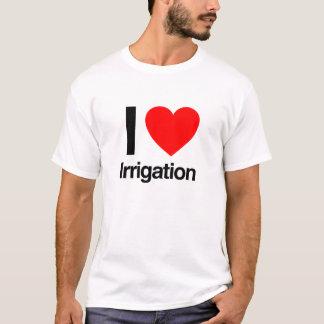 ik houd van irrigatie t shirt