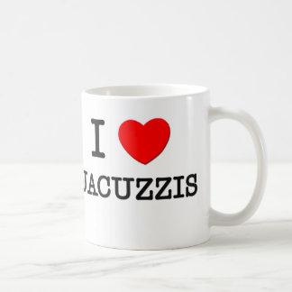 Ik houd van Jacuzzis Koffiemok