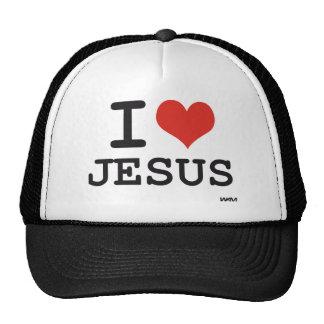 Ik houd van Jesus Pet Met Netje