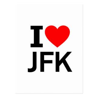 Ik houd van JFK Briefkaart