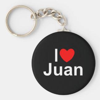 Ik houd van Juan (van het Hart) Sleutelhanger