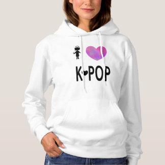 Ik houd van k-Pop Hoodie