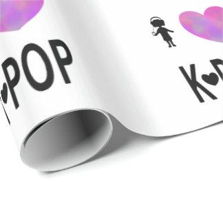 Ik houd van k-Pop Inpakpapier