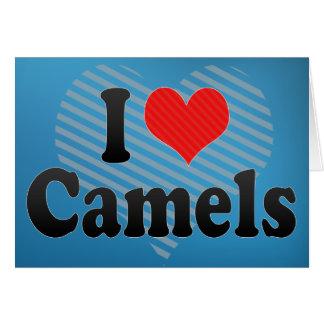 Ik houd van Kamelen Briefkaarten 0