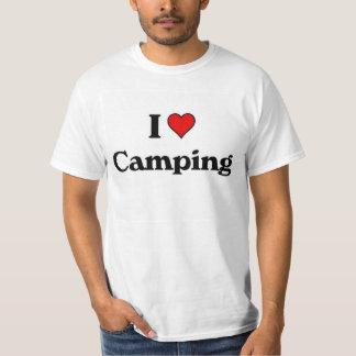 Ik houd van kamperend t shirt