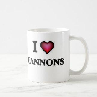 Ik houd van Kanonnen Koffiemok