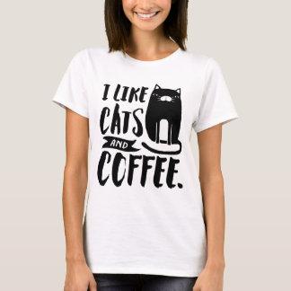 Ik houd van Katten & Koffie T Shirt