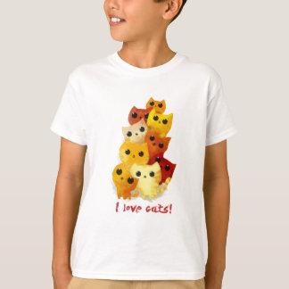 Ik houd van Katten T Shirt