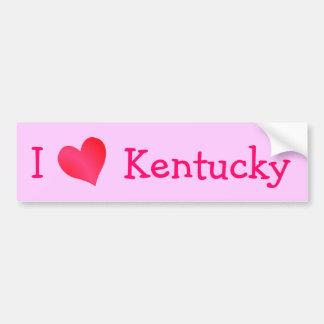 Ik houd van Kentucky Bumpersticker