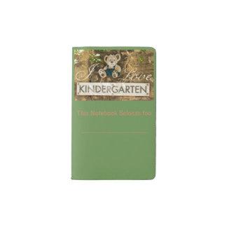 Ik houd van Kleuterschool Pocket Moleskine Notitieboekje
