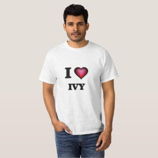 Ik houd van Klimop T Shirt