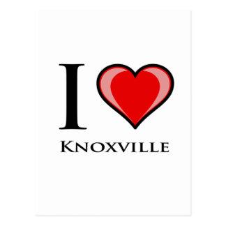 Ik houd van Knoxville Briefkaart