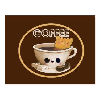 Ik houd van Koffie Briefkaart