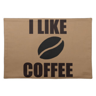 Ik houd van koffie placemat