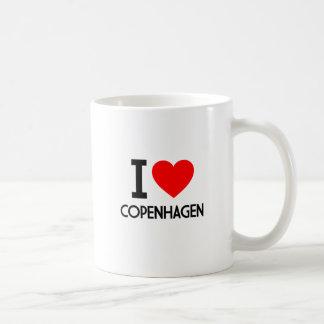 Ik houd van Kopenhagen Koffiemok