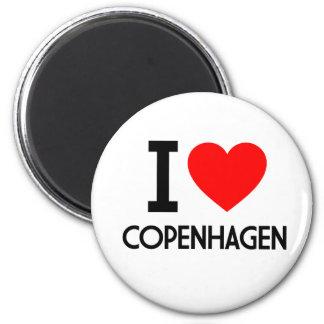 Ik houd van Kopenhagen Magneet