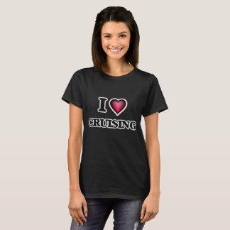 Ik houd van kruisend t shirt
