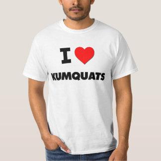 Ik houd van Kumquats (Voedsel) T Shirt