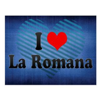 Ik houd van La Romana, Dominicaanse Republiek Briefkaart