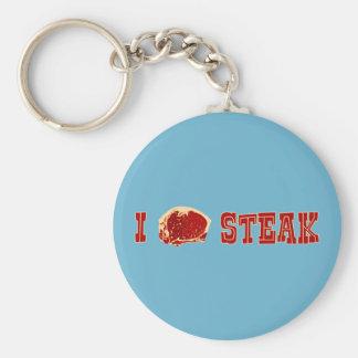 Ik houd van Lapje vlees Sleutelhanger