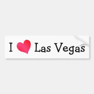 Ik houd van Las Vegas Bumpersticker