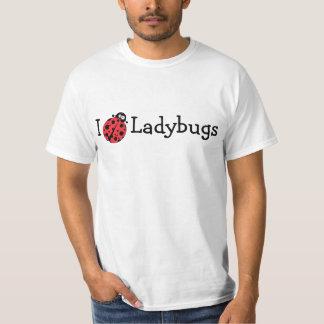 Ik houd van Lieveheersbeestjes T Shirt