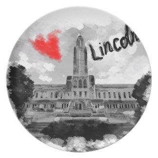 Ik houd van Lincoln Bord