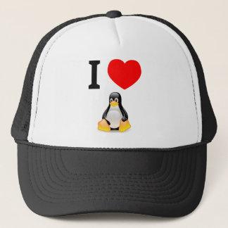 Ik houd van Linux Trucker Pet