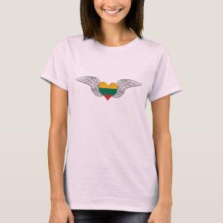 Ik houd van Litouwen - vleugels T Shirt