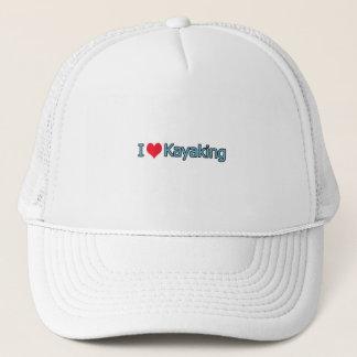 Ik houd van Logo Kayaking Trucker Pet
