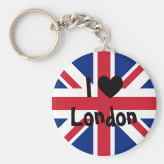 Ik houd van Londen Sleutelhanger