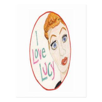 Ik houd van Lucy Briefkaart