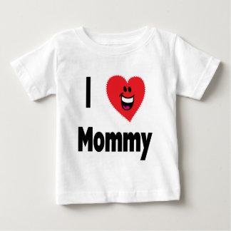 Ik houd van Mama Baby T Shirts
