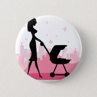 ik houd van mamma ronde button 5,7 cm