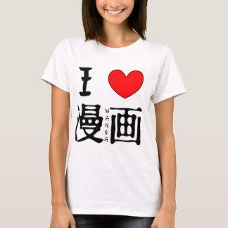 Ik houd van Manga T Shirt